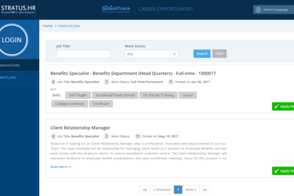Applicant Tracking Capture